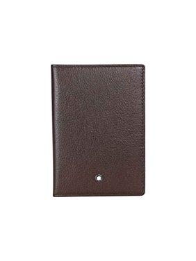 Montblanc Meisterstuck Tuscany Buffalo Brown Passport Holder 111270