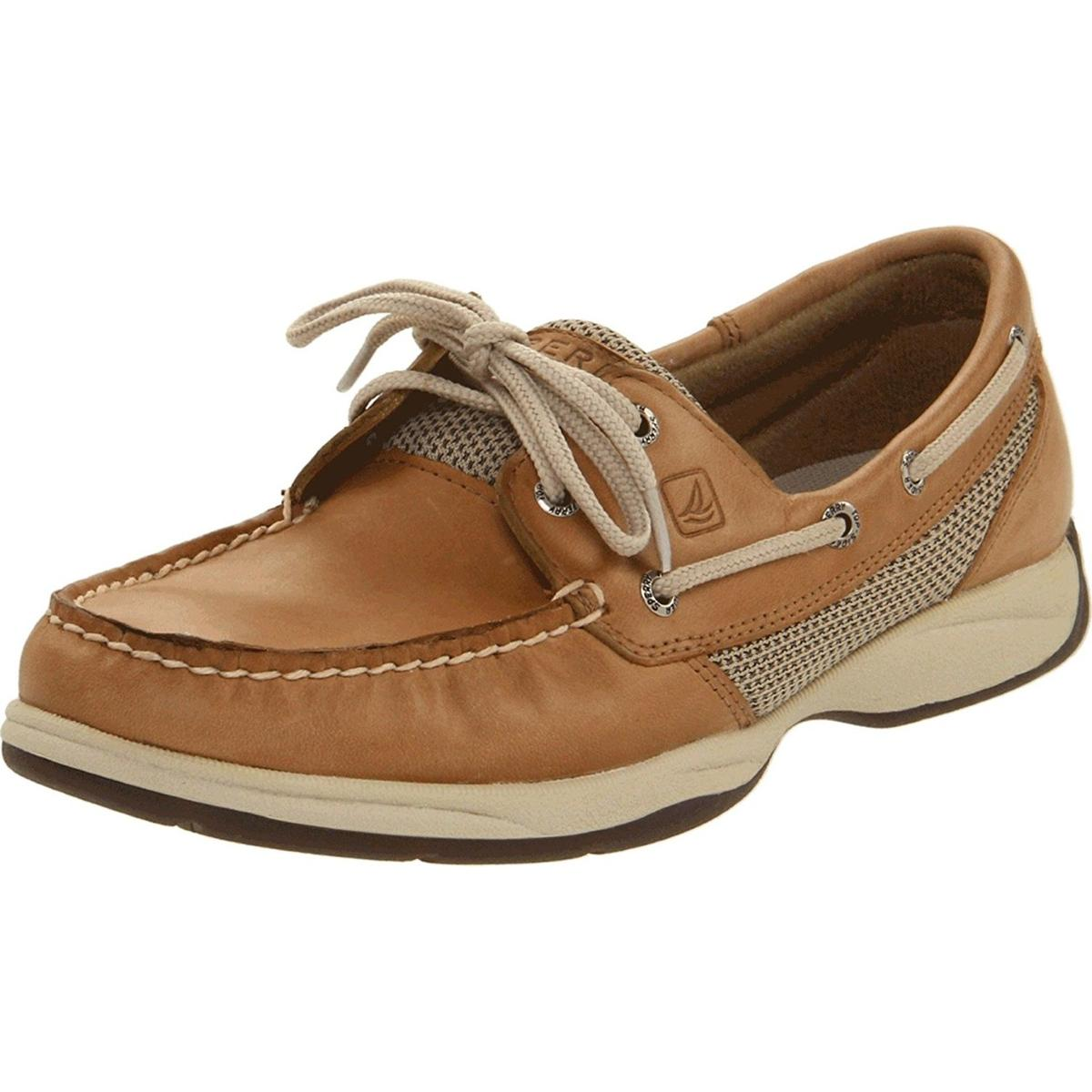 Sperry Top-Sider Intrepid 2 Eye Womens Linen/mesh Boat Shoes