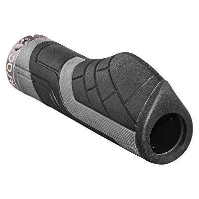 comfort lock-on bike handlebar grips - ergo rubber cycling bicycle grips - ergonomic shape and vibration/shock absorbent tpr minimizes fatigue numbness and hurt
