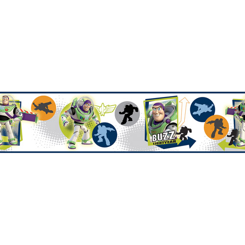RoomMates Toy Story Buzz Lightyear Peel and Stick Border