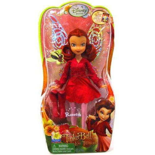 "Disney Fairies Tinker Bell & The Lost Treasure Rosetta 8"" Doll"