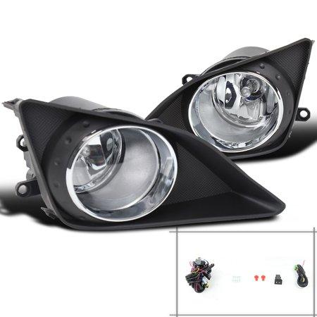 Spec-D Tuning 2009-2010 Toyota Corolla Jdm Fog Lights + Switch 2009 2010 (Left + Right)