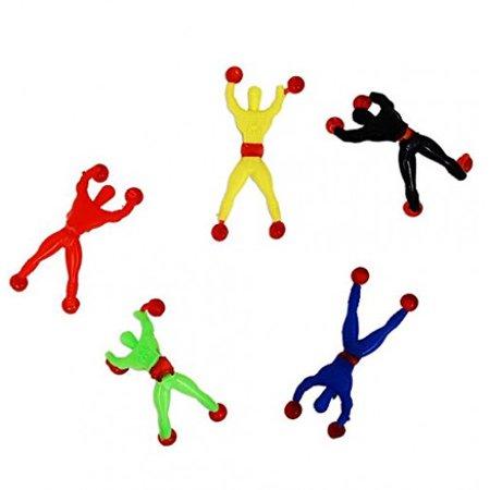 Sticky Toys (Dazzling Toys Sticky Rolling Men Wall Climbers 24 per)