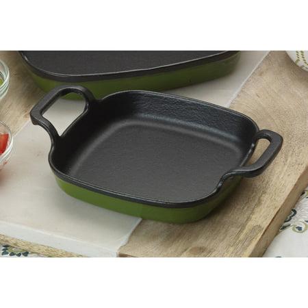 18.5 Inch Classic Cast - Bayou Classic 7770G Cypress Green 6 Inch Baking Dish, Bayou Classic,Enameled Cast Iron