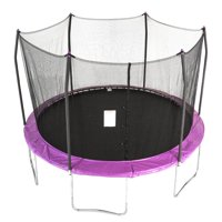 Skywalker Trampolines 12' Trampoline, with Safety Enclosure, Purple