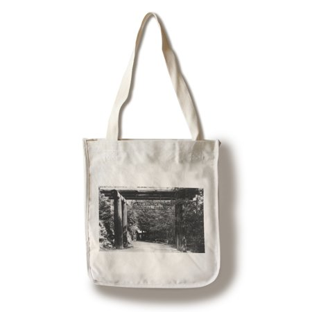 Mt. Rainier National Park Entrance Photograph (100% Cotton Tote Bag -