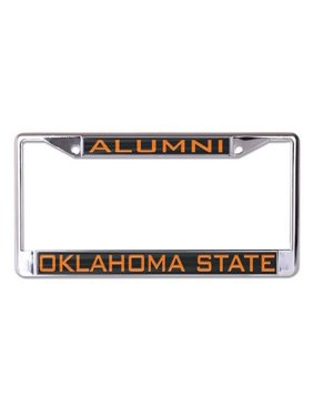 Oklahoma State Cowboys WinCraft Alumni Inlaid Metal License Plate Frame - No Size