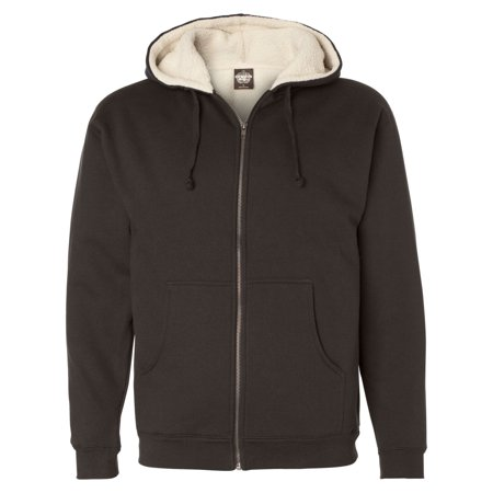 independent trading exp40shz sherpa lined full-zip hooded sweatshirt ()