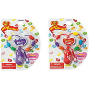 Little Kids Jelly Belly Necklaces, 2 Pack, Grape and Cherry