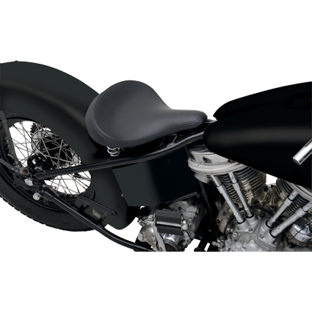 Drag Specialties Large Spring Solo Seat Black (0806-0047)