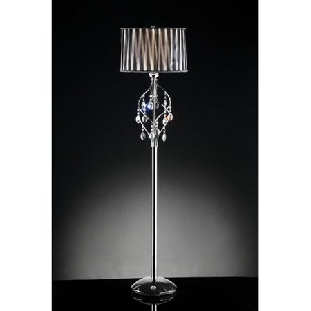 Ok Lighting Lady Crystal Floor Lamp  63