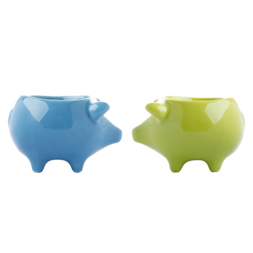 Big Arrow by Maia Ming Bacon N' Egg Cup (Set of 2) by Big Arrow - Maia Ming