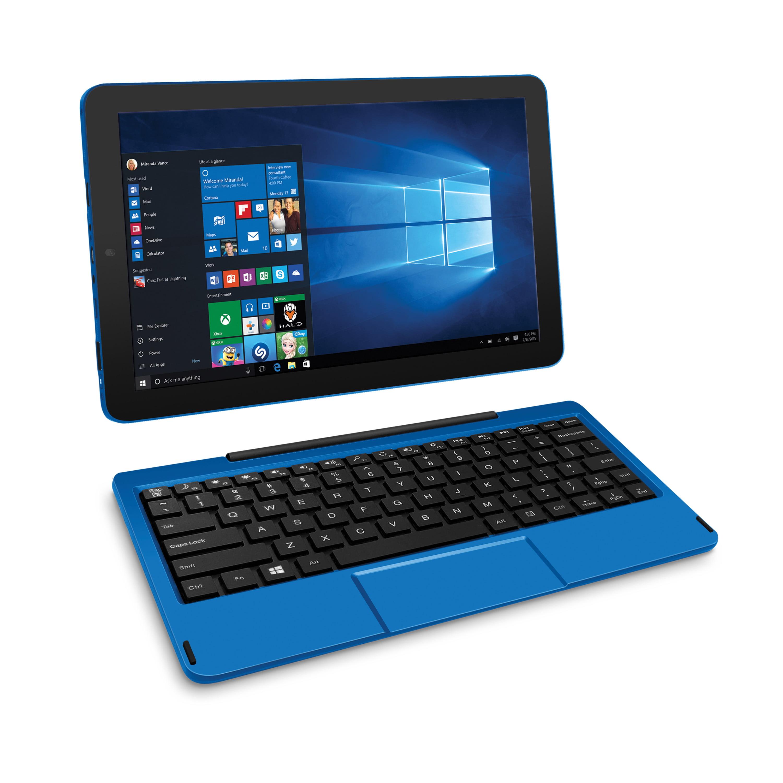 """RCA Cambio 10.1"""" 2-in-1 Quad-Core Windows 10 Tablet"""