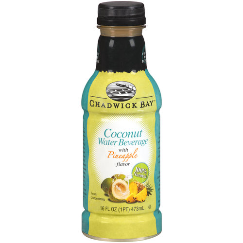 Chadwick Bay Coconut Water Beverage with Pineapple Flavor, 16 fl oz