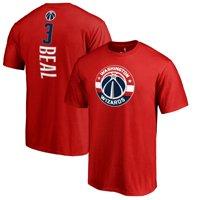 Bradley Beal Washington Wizards Backer T-Shirt - Red