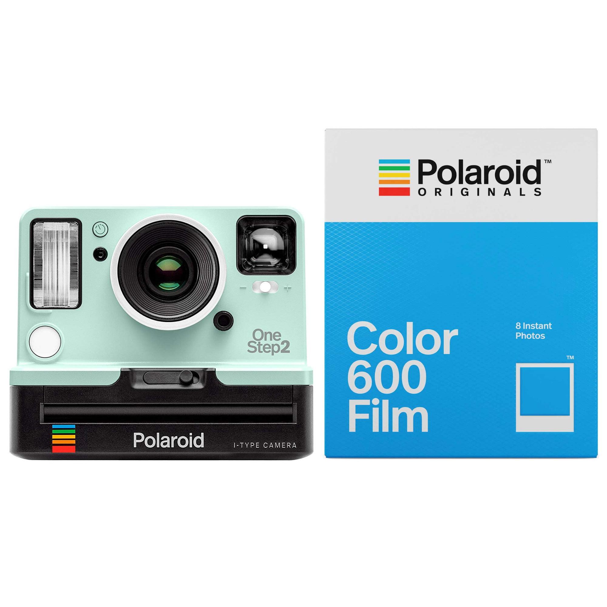 40ff60dd6b Polaroid Originals 9007 OneStep 2 VF Instant Camera (Mint) and Color 600  Film - Walmart.com