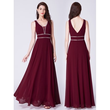 3a8c8bd5ac Ever-Pretty - Ever-Pretty Women s Sexy Dance Prom Evening Party Mother of  the Groom Wedding Maxi Dresses for Women 07442 US 12 - Walmart.com