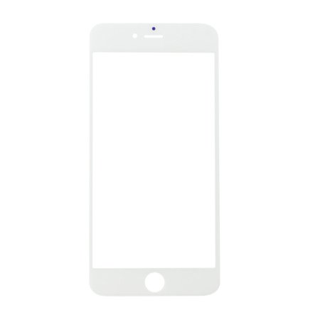 Front Outer Touch Screen Glass Lens Cover for iPhone 6 Plus 5.5'' White