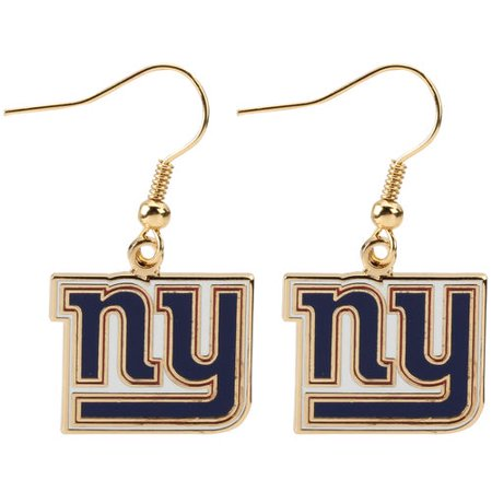 New York Giants Logo Wire - Giants Earrings