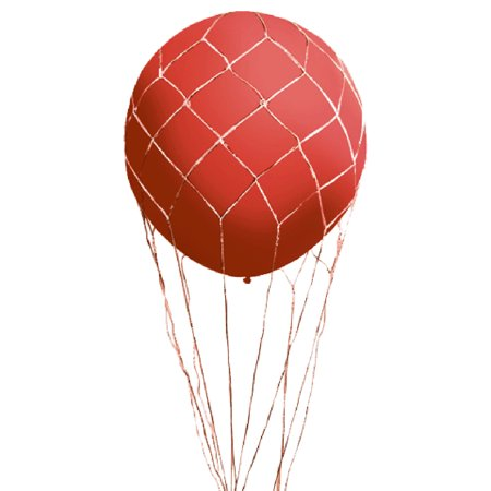 Balloon Drop Nets (Loftus Party Supplies Hot Air Balloon Net for 3' Balloons,)