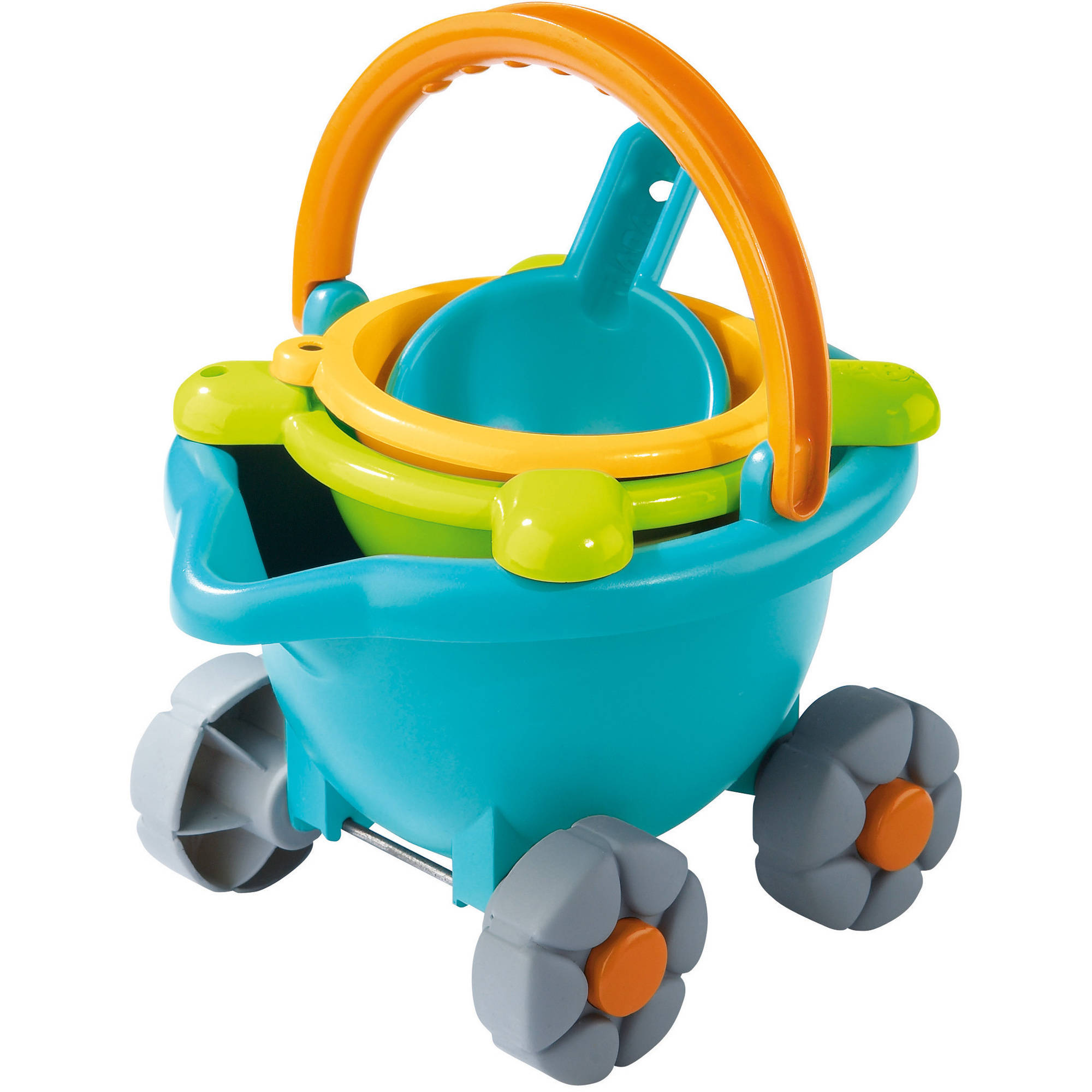 Click here to buy HABA Baudino Sand Bucket Scooter by HABA.