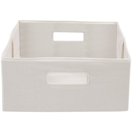 - Better Homes and Gardens Half-Height Fabric Cube Storage Bins, Set of 2, Multiple Colors