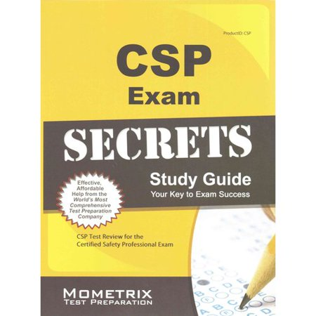 Csp Exam Secrets  Csp Test Review For The Certified Safety Professional Exam