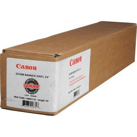 Scrim Vinyl - Canon Scrim Banner Vinyl Roll-24 in x 40 ft Scrim Banner Vinyl