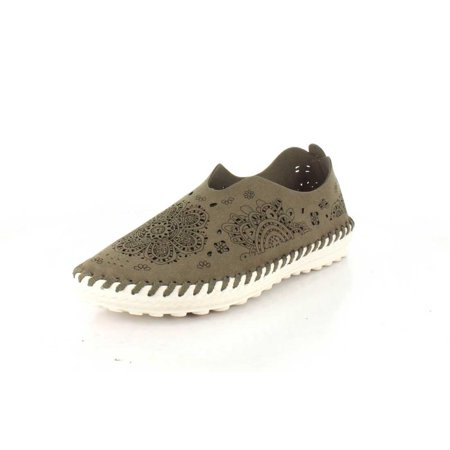 Bernie Mev TW09-TAUPE : Women's  Casual TWO09 Slip On Shoes Taupe ()