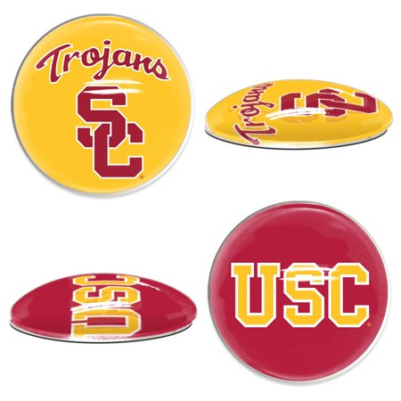 USC Trojans Official NCAA  Sport Dotts Magnet 2 Pack by Wincraft