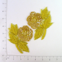 Expo Int'l Flower Sequin Applique Pack of 2