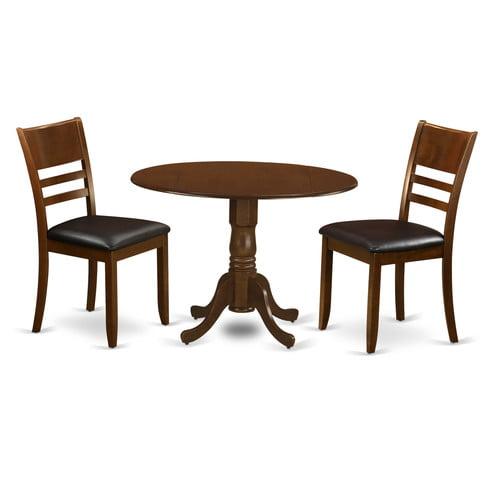 August Grove Spruill 3 Piece Dining Set