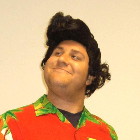 Jim Carrey Mask Halloween (Ace Ventura Wig Pet Detective Mens Deluxe Jim Carrey 2 Movie Adult)