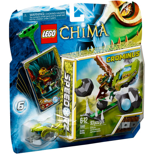LEGO Chima Boulder Bowling Play Set