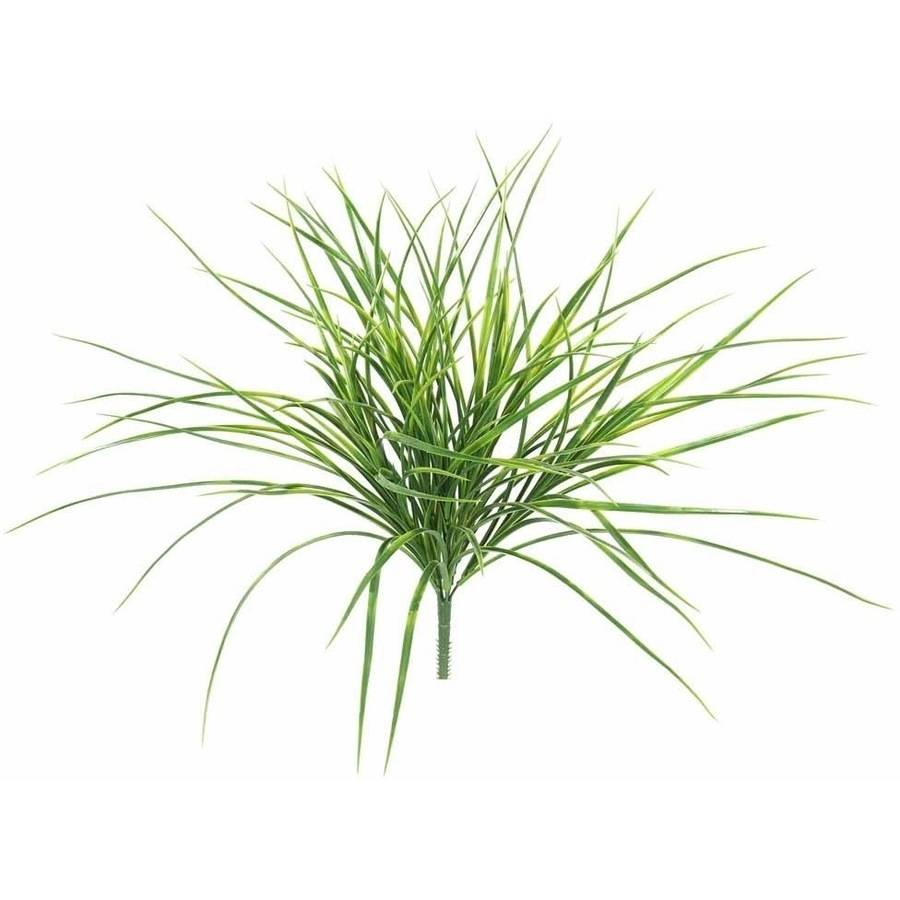 "Vickerman 20"" Artificial Green Grass Bush"