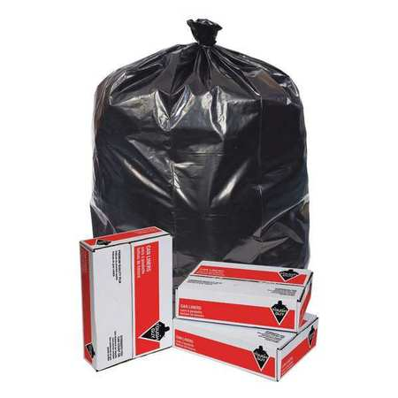 TOUGH GUY Trash Bags, 96 gal., 2.0 mil, PK50, 6FWH8
