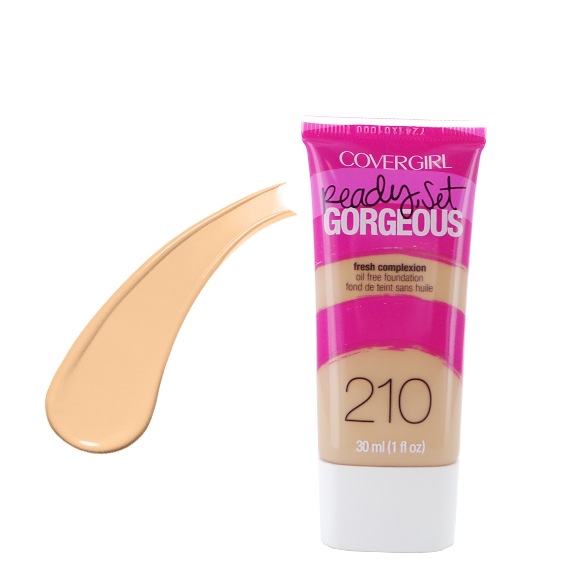 COVERGIRL Ready Set Gorgeous Foundation - Medium Beige 210 (3 Paquets)