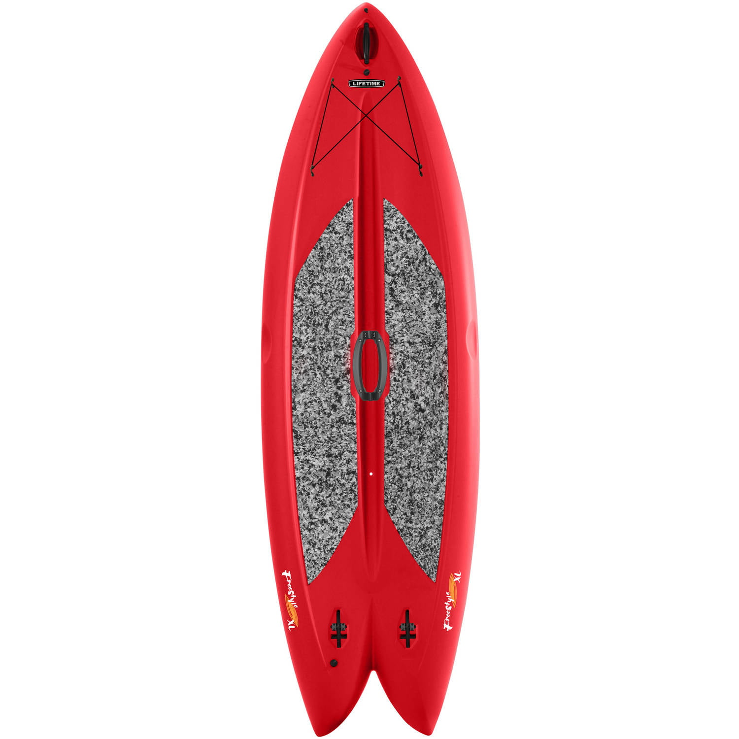 "Lifetime Freestyle 9'8"" Paddleboard with Paddle In Red by Lifetime"
