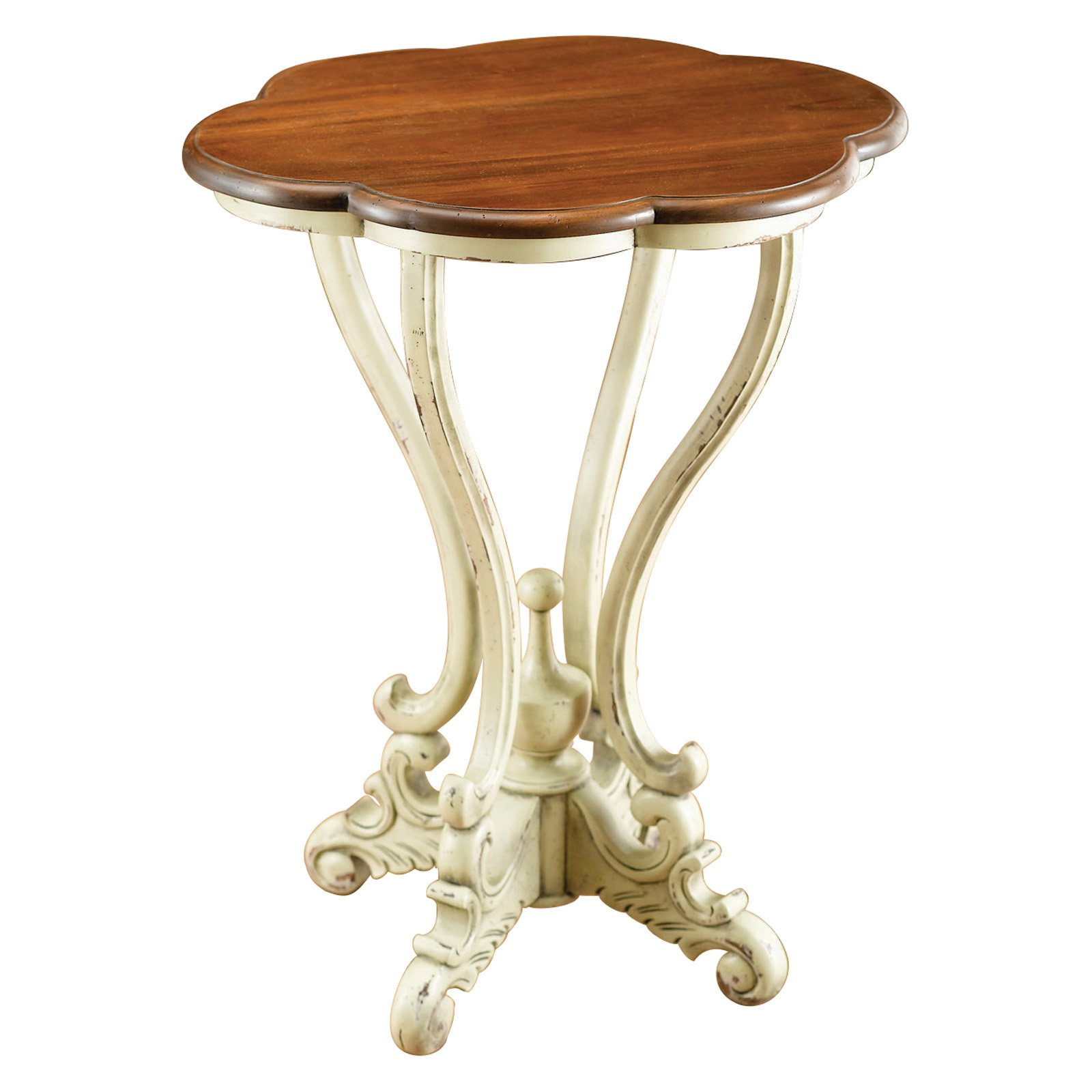 AA Importing Serpentine Lamp Table