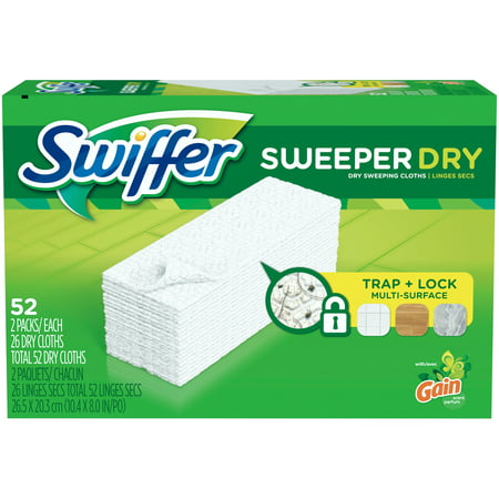 Swiffer Sweeper Dry Sweeping Cloth 2-26 ct Packs