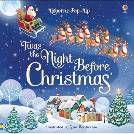 POP UP TWAS THE NIGHT BEFORE CHRISTMAS