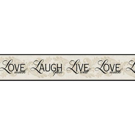Roommates Live  Laugh  Love Border