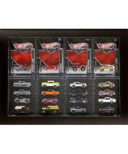 Mattel Hot Wheels 2011 Garage 20 Car Set Ford VS. GM Chev...