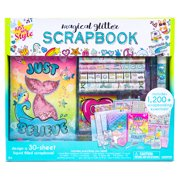 Just My Style Magical Glitter Scrapbook Set, Arts & Crafts, 6+