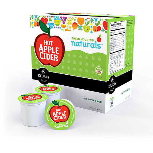 Keurig K-Cups Green Mountain Naturals Hot Apple Cider, 16ct
