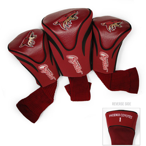 Team Golf NHL Arizona Coyotes 3 Pack Contour Head Covers
