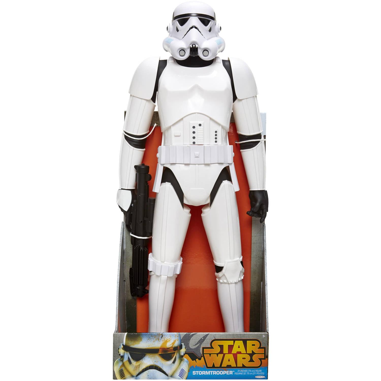 """Star Wars 31"""" Stormtrooper Action Figure Walmart"""