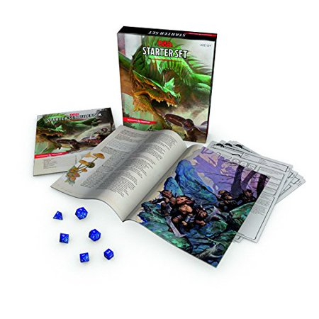 Dungeons & Dragons Starter Set: Fantasy D&D Roleplaying Game 5th Edition (RPG Boxed (100 Best Games In The World)
