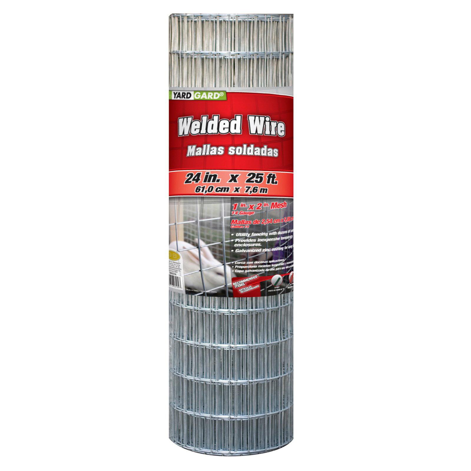 YARDGARD 36 Inch by 50 Foot Galvanized Welded Wire Fence - Walmart.com