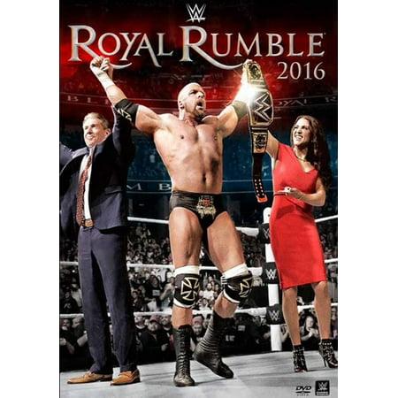 WWE Royal Rumble 2016 - Royal Rumble Winners